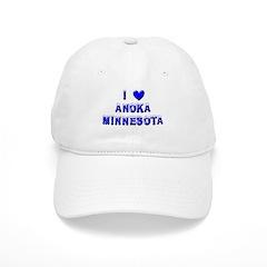 I Love Anoka Winter Baseball Cap