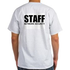 STAFF Ash Grey T-Shirt