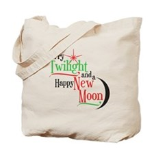 Twilight New Moon Christmas Tote Bag