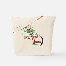 Twilight New Moon Christmas Tote Bag