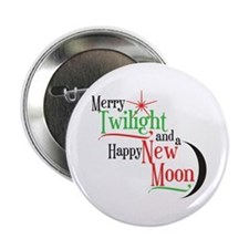 "Twilight New Moon Christmas 2.25"" Button"