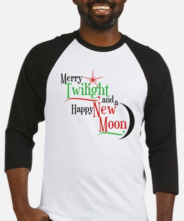 Twilight New Moon Christmas Baseball Jersey