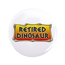 "Retired Dinosaur 3.5"" Button (100 pack)"