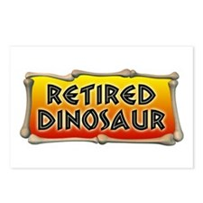 Retired Dinosaur Postcards (Package of 8)