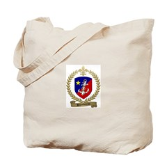 BOUDREAU Family Crest Tote Bag