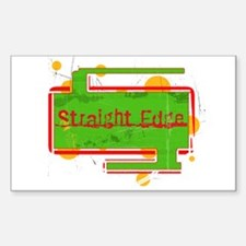 Straight-Edge Rectangle Decal