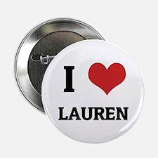 I Love Lauren Button