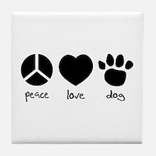 COOL DOG Tile Coaster