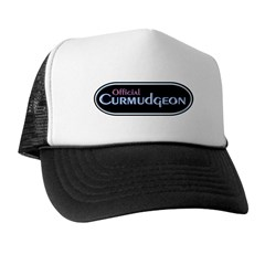 Official Curmudgeon Trucker Hat