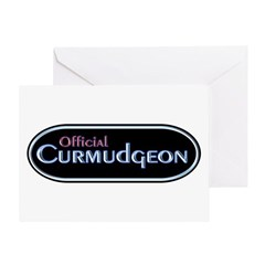 Official Curmudgeon Greeting Card