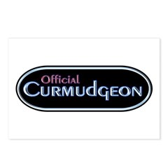 Official Curmudgeon Postcards (Package of 8)