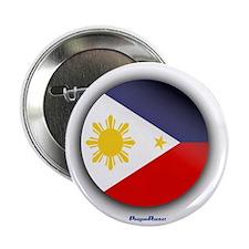 "Philippines - Heart 2.25"" Button"