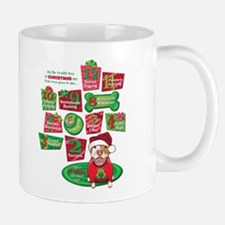 12 Dogs of Christmas Mug
