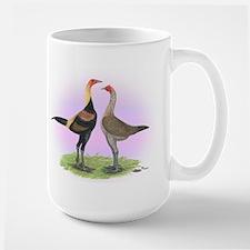 Black-breasted Red Modern Gam Mug