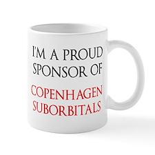 Proud sponsor mug