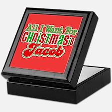 Christmas Jacob Keepsake Box