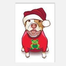 A Pit Bull in a Bear Tee Postcards (Package of