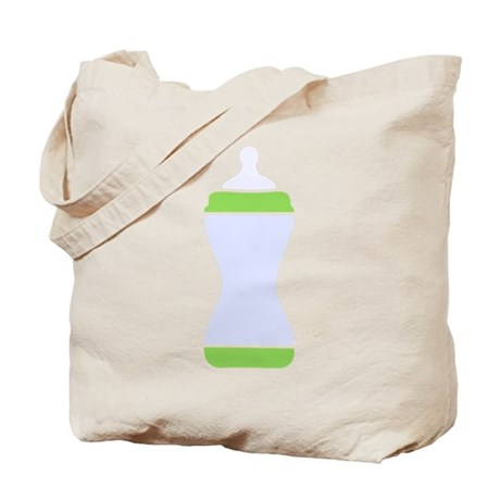 Baby Bottle Tote Bag