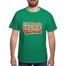Carlisle Christmas Dark T-Shirt