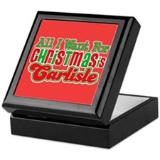 Carlisle Christmas Keepsake Box