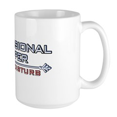 Professional Napper Large Coffee Mug