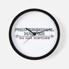 Professional Napper Wall Clock