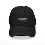 Professional Napper Black Cap