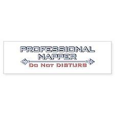 Professional Napper Bumper Bumper Sticker