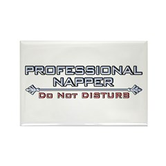 Professional Napper Rectangle Magnet (100 pack)