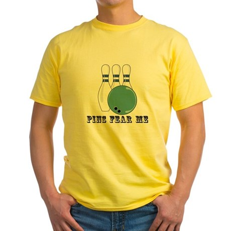 Pins Fear Me Yellow T-Shirt