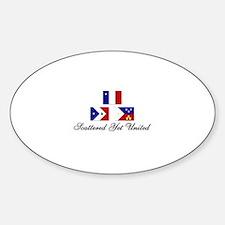 Acadina/Cajun Sticker (SYU Oval)