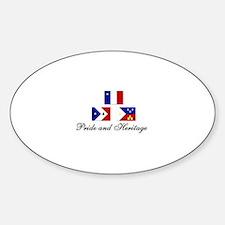 Acadian/Cajun Sticker (PH Oval)