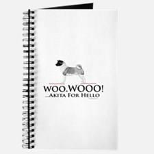 oddFrogg Akita Woo Hello Journal