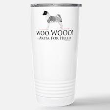 Akita Hello Travel Mug