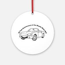 Anniversary Ornament (Round)
