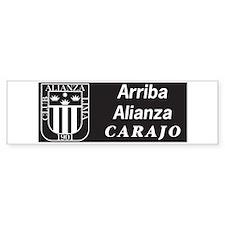 Alianza Lima Bumper Bumper Sticker