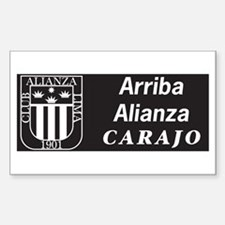 Alianza Lima Rectangle Decal