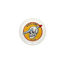 USS COD Mini Button