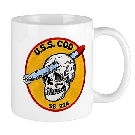 USS COD Mug