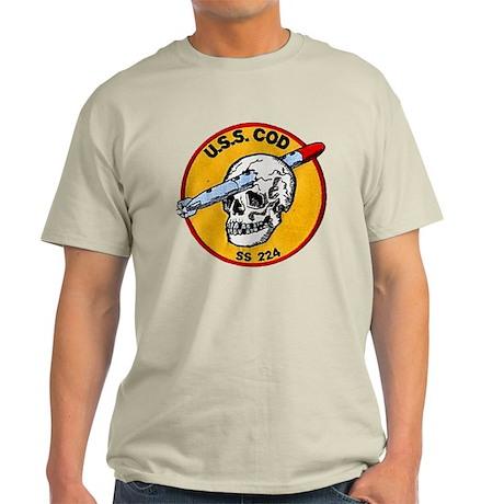 USS COD Light T-Shirt