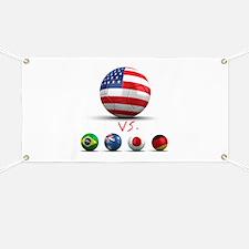 USA vs The World Banner