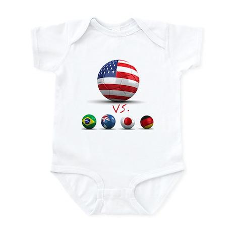 USA vs The World Infant Bodysuit