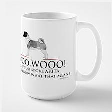 Akita Woo Woo Mug