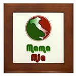 Mama Mia Framed Tile