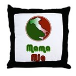 Mama Mia Throw Pillow
