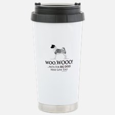 oddFrogg Akita Big Dogs Need Travel Mug