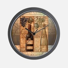 Unique Tuscan kitchen Wall Clock