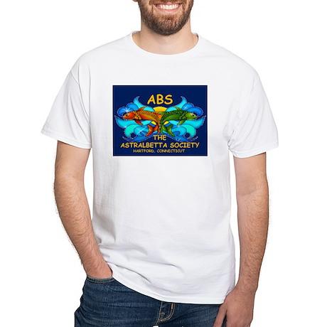 ABS Logo White T-Shirt