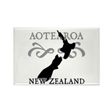 Aotearoa New Zealand Rectangle Magnet