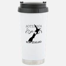 Aotearoa New Zealand Stainless Steel Travel Mug